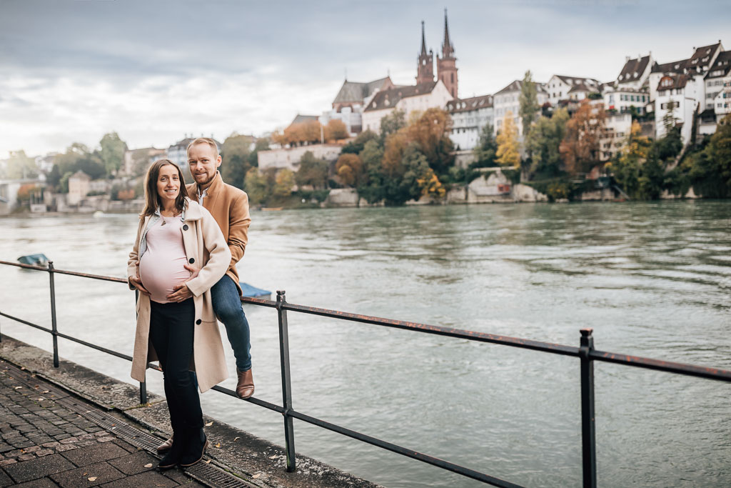 Maternity photo session in Basel